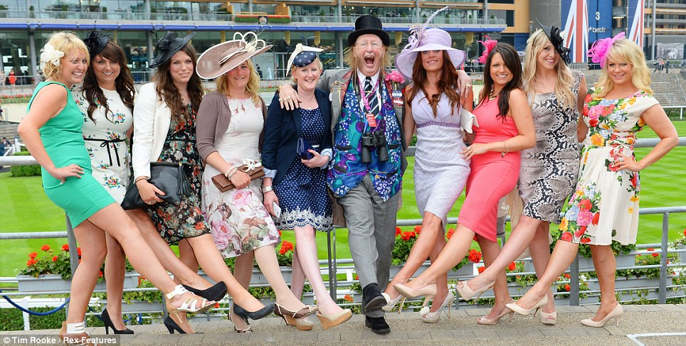 Sorry for this picture!  Whilst researching Ladies day I found this - CRINGE!!