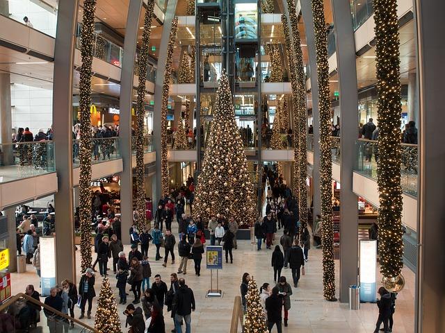shopping cntre xmas